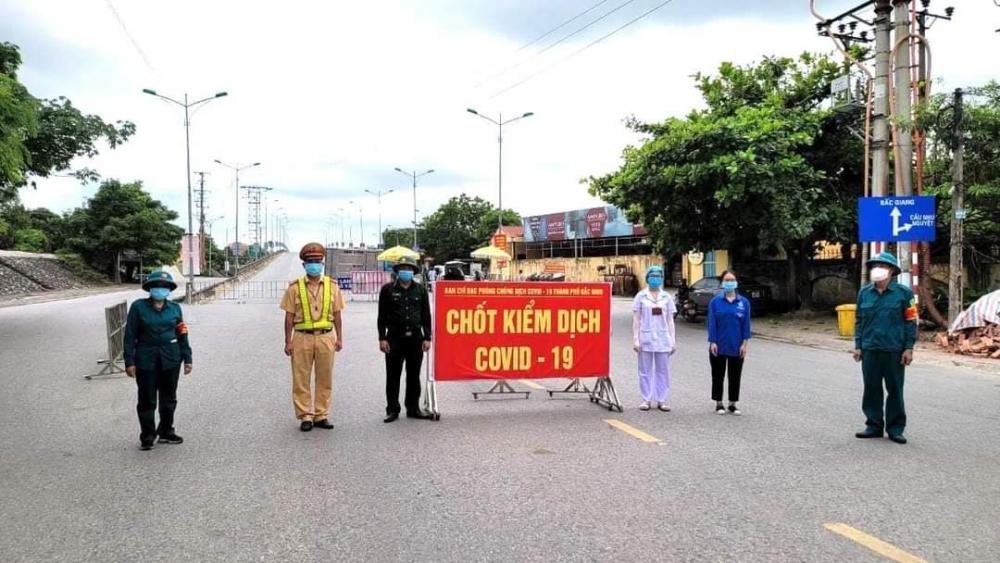 Bắc Ninh tiếp tục đẩy mạnh công tác phòng chống dịch Covid-19