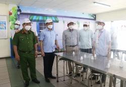Phó Chủ tịch UBND tỉnh Bắc Ninh kiểm tra công tác phòng, chống dịch tại KCN Quế Võ