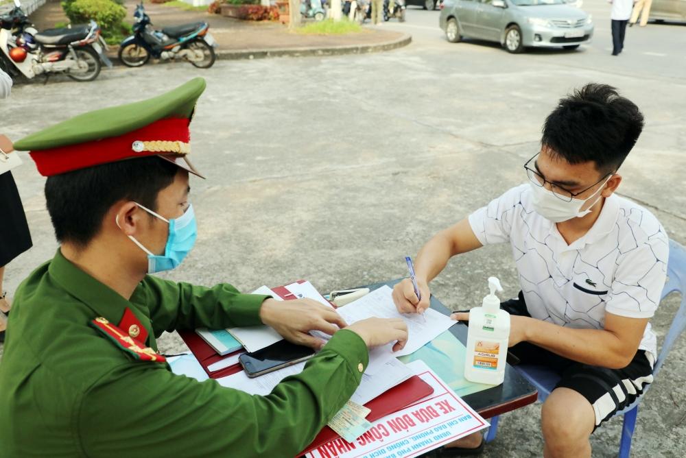 Thành phố Bắc Ninh xử lý các trường hợp ra đường không có lý do chính đáng