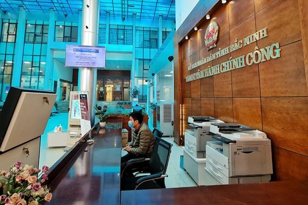 Bắc Ninh: Cho phép Trung tâm Hành chính công cấp tỉnh, huyện hoạt động trở lại