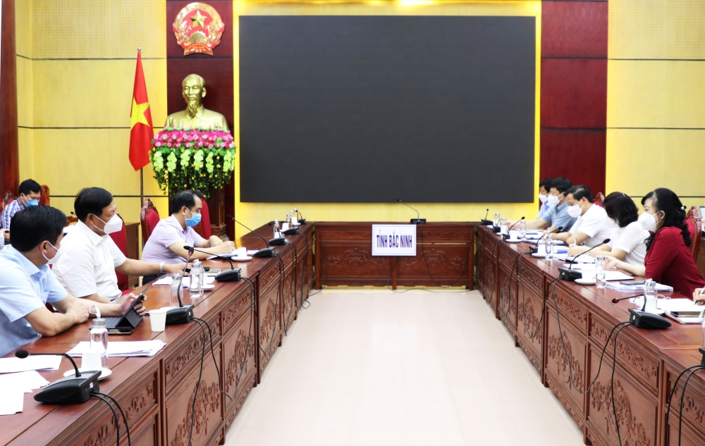 Toàn bộ người dân Thuận Thành và TP Bắc Ninh sẽ được lấy mẫu xét nghiệm Covid-19 từ ngày 5/6