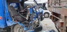Audio Pháp luật ngày 5/7: Ô tô tải đâm vào đuôi container khiến 2 người thương vong