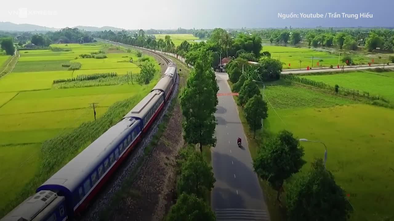 Đường sắt Bắc Nam vào top 10 tuyến đường sắt đẹp nhất thế giới