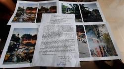"""Hà Nội: """"Biến"""" đất quy hoạch bãi đỗ xe thành nơi... tập kết rác"""