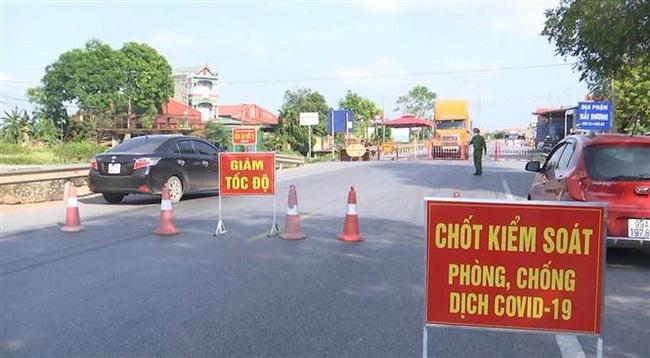 Bắc Ninh: Thiết lập vùng cách ly y tế đối với thôn Hiệp Sơn, xã Đông Cứu, huyện Gia Bình