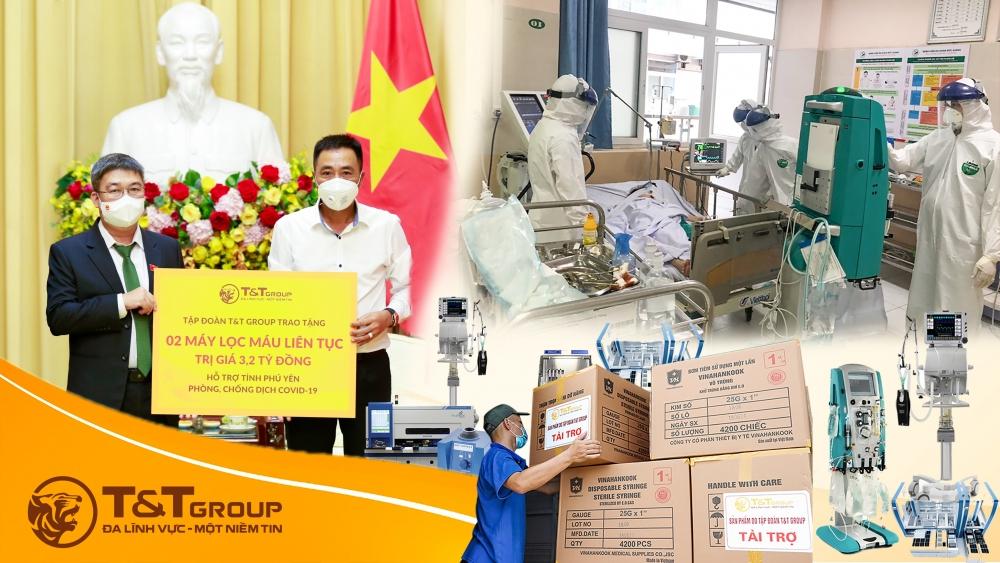 T&T Group tài trợ 20 tỷ đồng mua trang thiết bị y tế phòng, chống dịch Covid-19