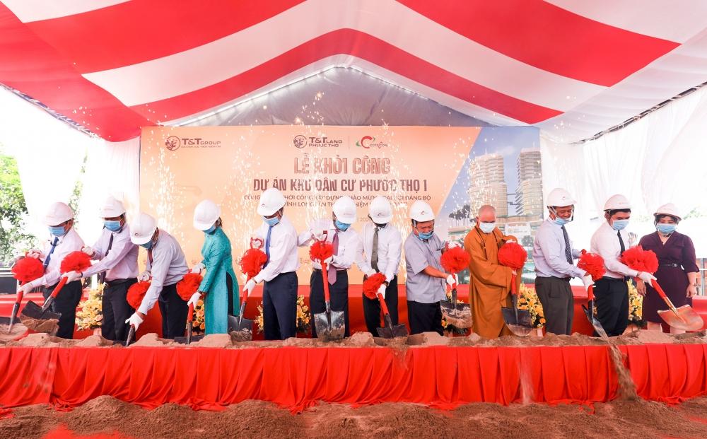 T&T Group khởi công dự án BĐS tại khu vực ĐBSCL
