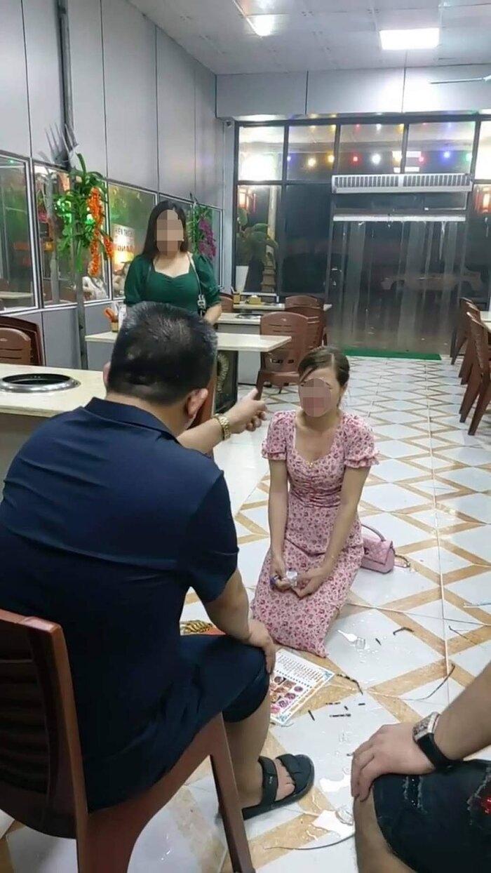"""Bắc Ninh: Làm rõ việc chủ quán Nhắng Nướng bắt khách quỳ lạy vì """"bóc phốt"""" đồ ăn"""