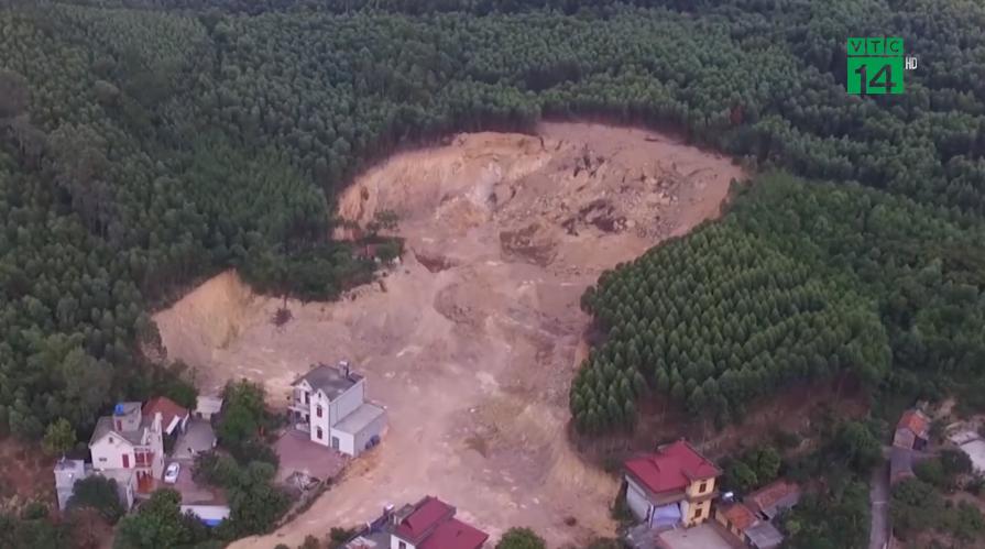 Mỏ đất ở Bắc Giang