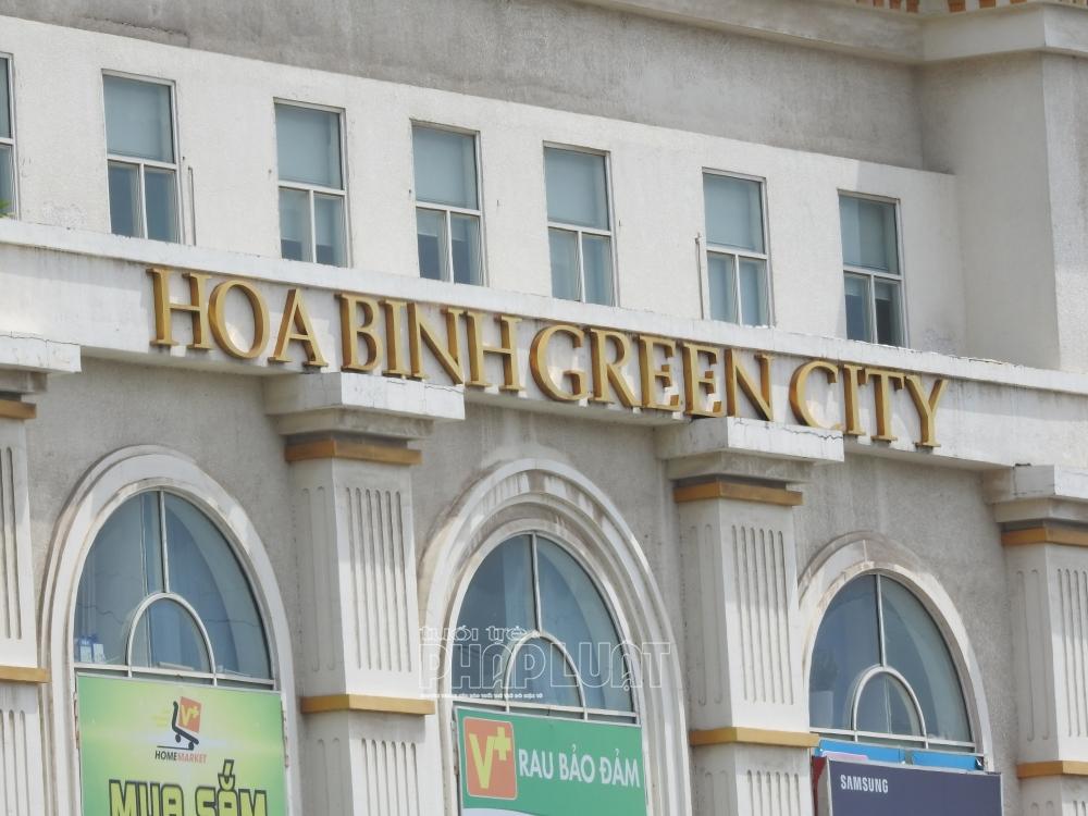 Chủ đầu tư dự án Hòa Bình Green City nợ 193,6 tỷ đồng tiền sử dụng đất