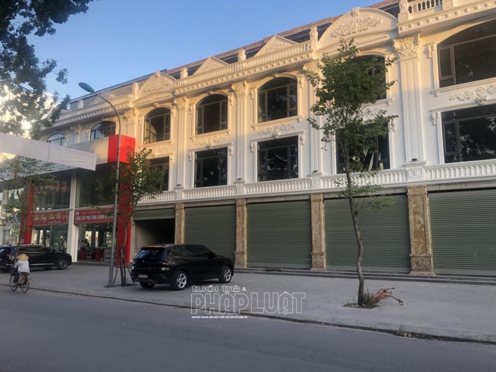 Bắc Giang: Công ty Đào Dương xây dựng không phép trên hàng nghìn mét vuông đất