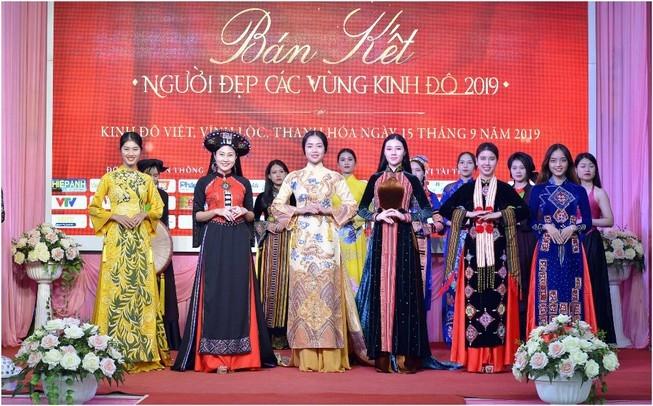 top 20 thi sinh vao vong chung ket cuoc thi nguoi dep cac vung kinh do 2019