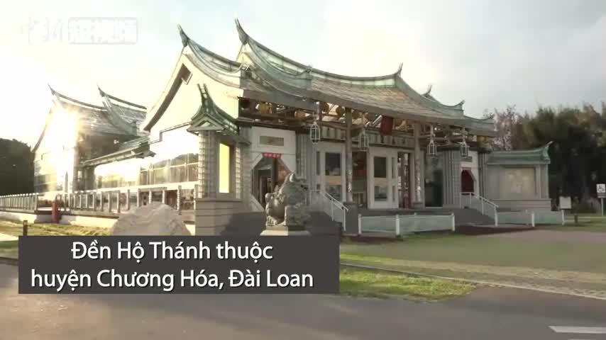Ngôi đền được xây bằng 70.000 tấm kính