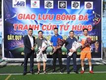 """Giải bóng đá  của CLB Santafe Hà Đông """"vì miền Trung ruột thịt"""""""