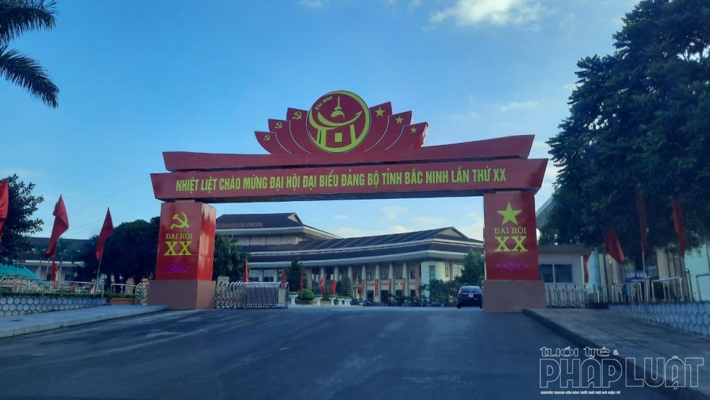 Bắc Ninh: Rực rỡ cờ, hoa chào mừng Đại hội Đảng bộ tỉnh lần thứ XX