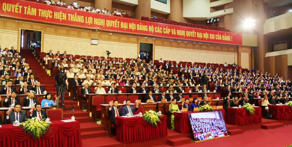 Đại hội Đảng bộ tỉnh Bắc Ninh lần thứ XX bắt đầu ngày làm việc thứ nhất