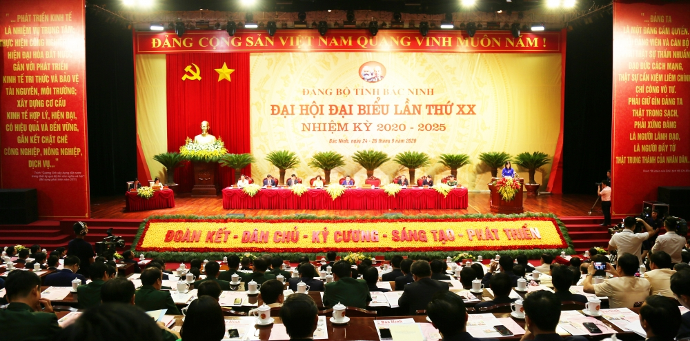 Danh sách Ban Thường vụ Tỉnh ủy Bắc Ninh lần thứ XX, nhiệm kỳ 2020 - 2025