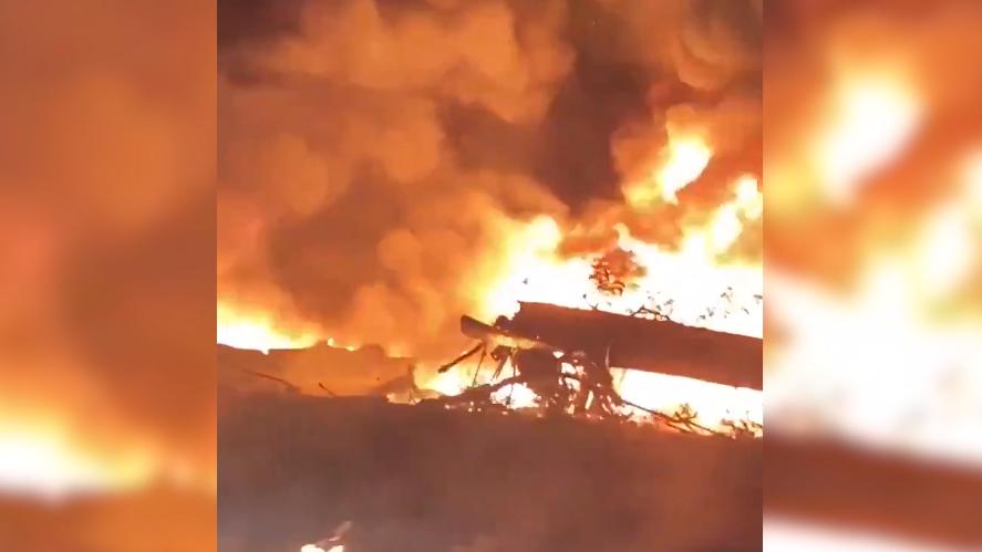 Video: Hiện trường thảm khốc vụ rơi máy bay quân sự Ukraina