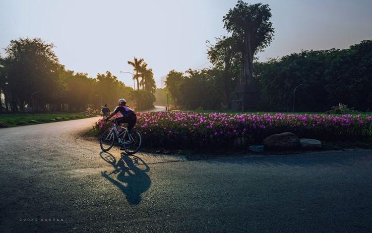 Bình minh có 'bất cứ đâu' tại khu đô thị ven Hà Nội
