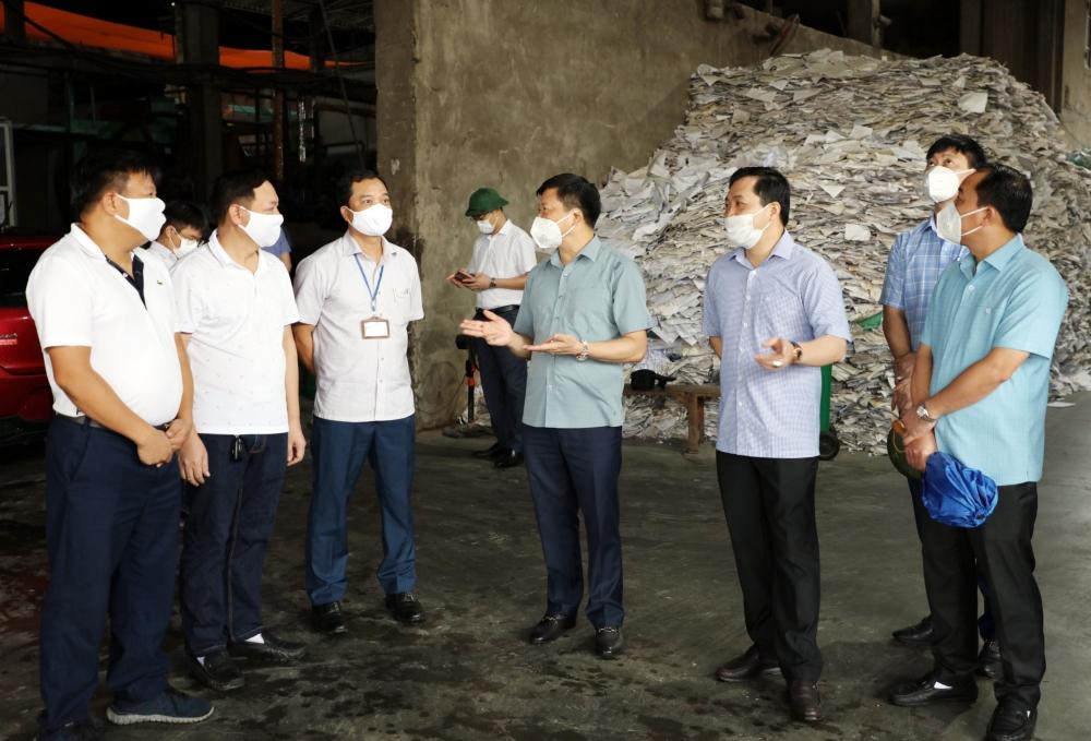 Môi trường tại làng nghề giấy Phong Khê bước đầu đạt được kết quả tích cực