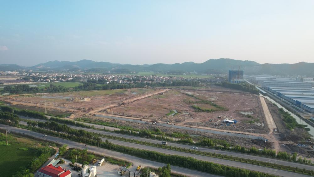 Toàn cảnh dự án Trung tâm Logistics Quốc tế Bắc Giang