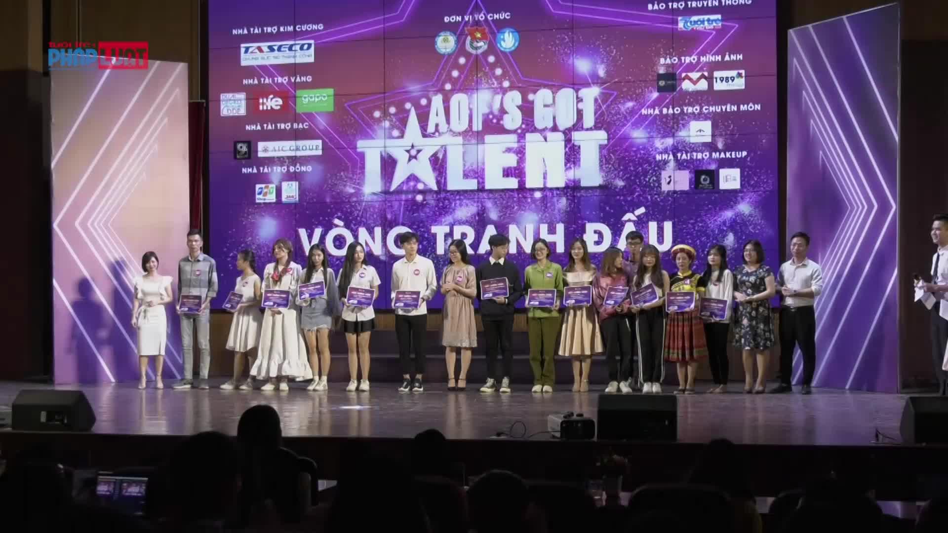 aofs got talent 2019 tranh dau de buoc tiep vao vong trong