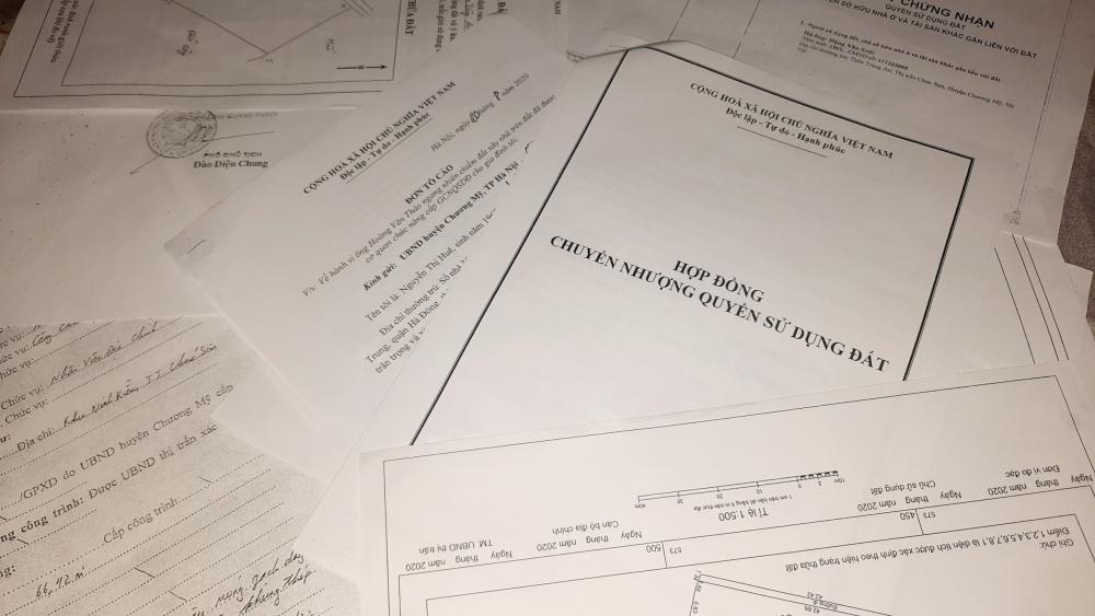 Chương Mỹ: Cần sớm xử lý vi phạm trên đất nông nghiệp và lấn chiếm hành lang ATGT