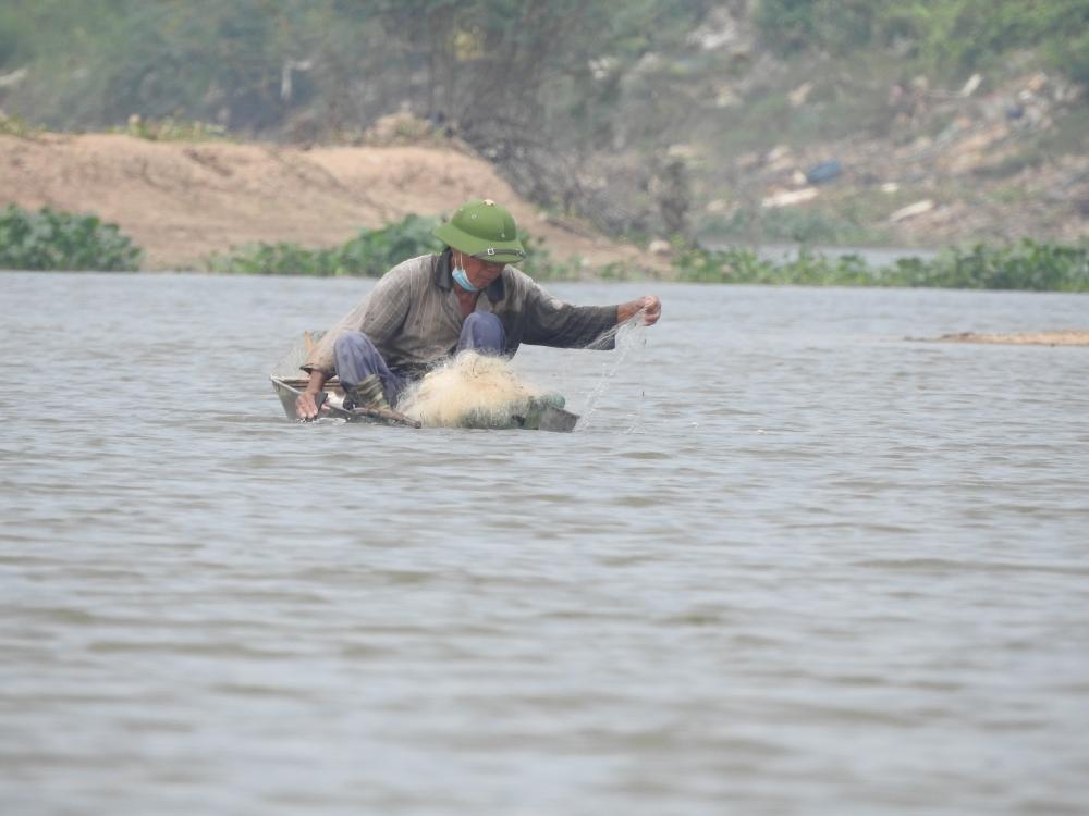 """Bắc Ninh: Những hình ảnh cho thấy """"dòng sông chết"""" đang dần hồi sinh"""