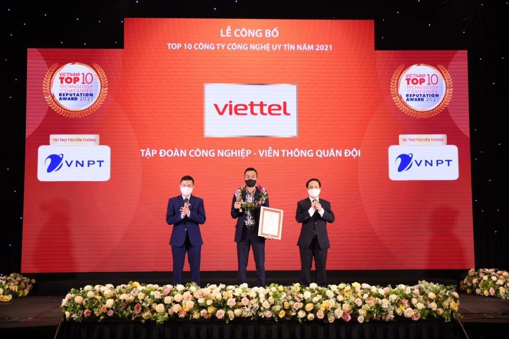 Năm thứ 4 liên tiếp Viettel đứng đầu Bảng xếp hạng Công ty CNTT – Viễn thông uy tính nhất Việt Nam