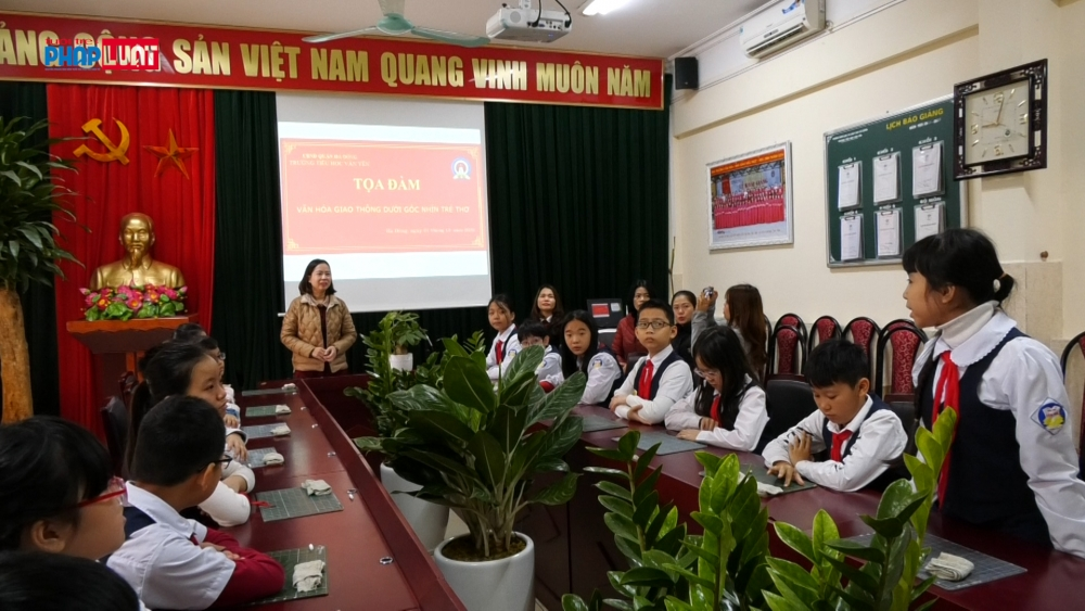 Tọa đàm Văn hóa giao thông dưới góc nhìn trẻ thơ trường Tiểu học Văn Yên