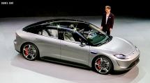 Sony khiến tất cả ngỡ ngàng khi ra mắt mẫu ôtô điện