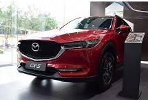Mazda CX - 5 giảm giá 50 triệu, tặng kèm nhiều phụ kiện