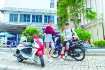 hoc sinh su dung xe may duoi 50 phan khoi phai co bang lai