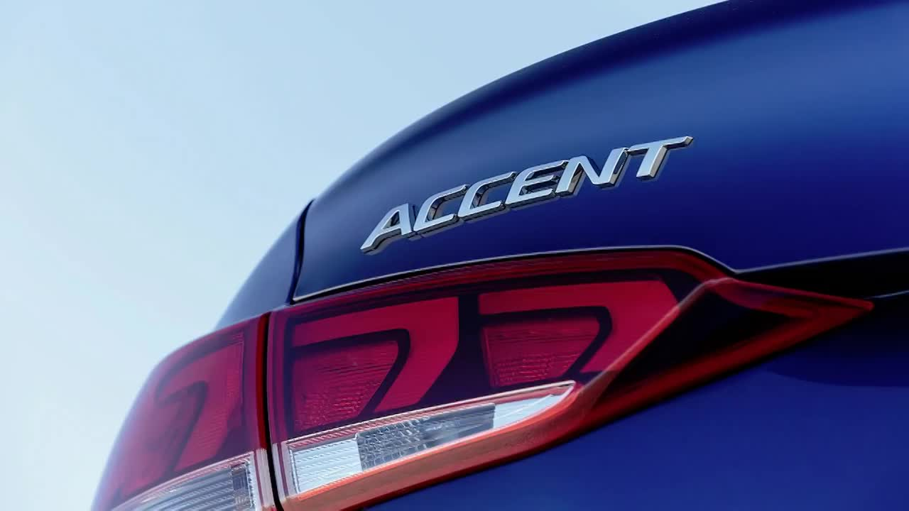 video can canh hyundai accent 2020