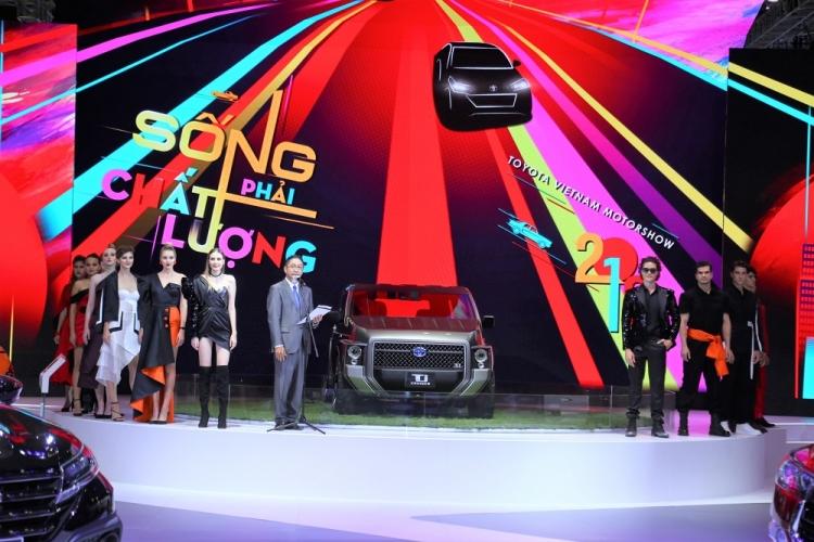 Triển lãm ô tô Việt Nam 2019: Toyota trưng bày những mẫu xe nào?