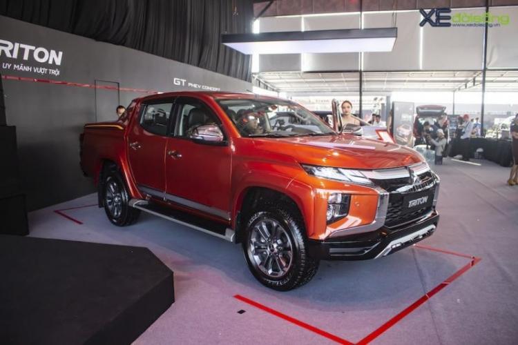 Mitsubishi Triton 2020 ra mắt thị trường Việt Nam giá thấp nhất 600 triệu đồng