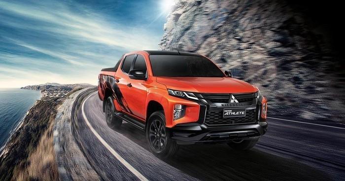 Mitsubishi Triton Athlete 2020 ra mắt, đối thủ nặng ký của Ford Ranger và Toyota Hilux