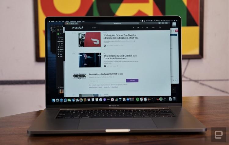macbook pro 16 inch da dinh loi khien nguoi dung kho chiu