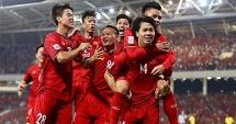 BXH FIFA: Việt Nam dẫn đầu Đông Nam Á