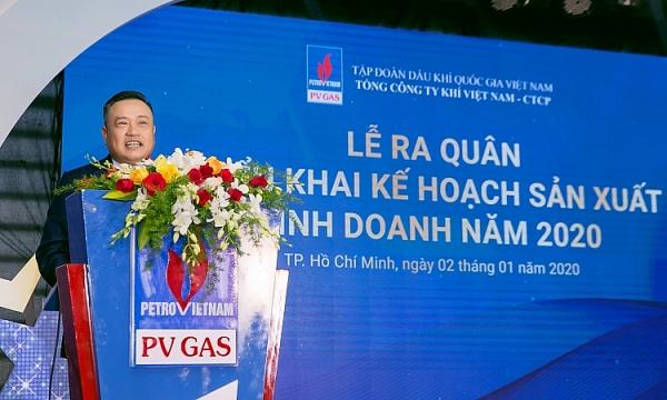 pv gas to chuc le ra quan trien khai ke hoach san xuat kinh doanh nam 2020