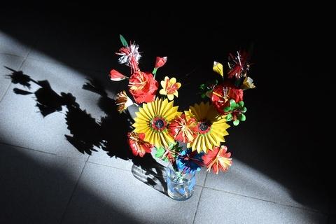 net dep tam linh o lang lam hoa giay xu hue