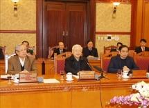 Tổng Bí thư, Chủ tịch nước chủ trì họp Ban Bí thư xem xét, quyết định về công tác cán bộ