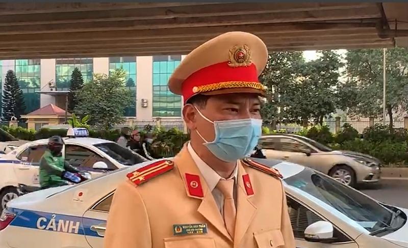 Trung tá Nguyễn Văn Lâm, Đội CSGT số 8, Công an TP Hà Nội