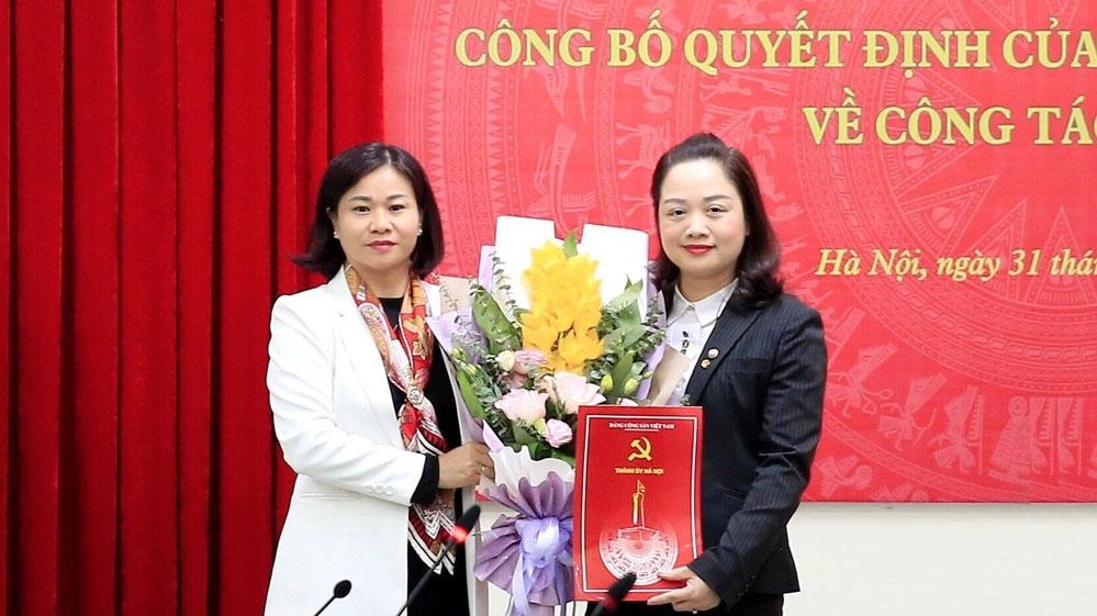Phó Giám đốc Sở Văn hóa và Thể thao Hà Nội làm Bí thư Huyện ủy Ứng Hòa
