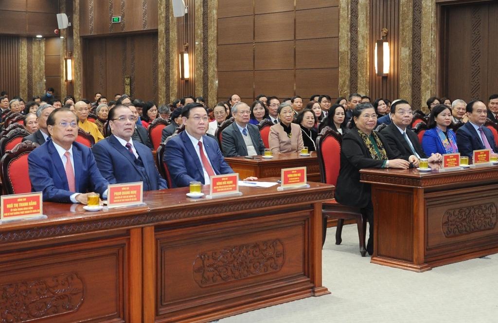 Đại biểu dự buổi gặp mặt