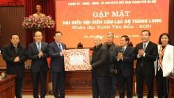 Thành phố Hà Nội luôn ghi nhận và đánh giá cao những đóng góp của Câu lạc bộ Thăng Long