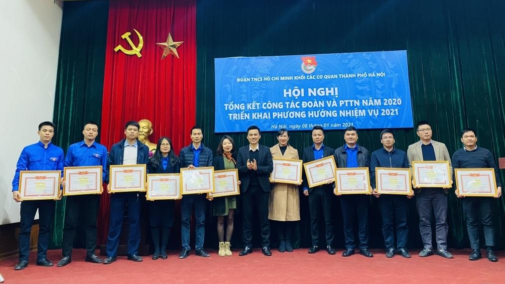 Tuổi trẻ Khối các cơ quan thành phố Hà Nội thi đua triển khai các công trình phần việc thanh niên