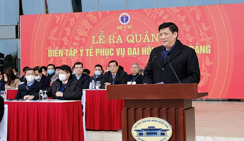 Đồng chí Nguyễn Thanh Long phát biểu