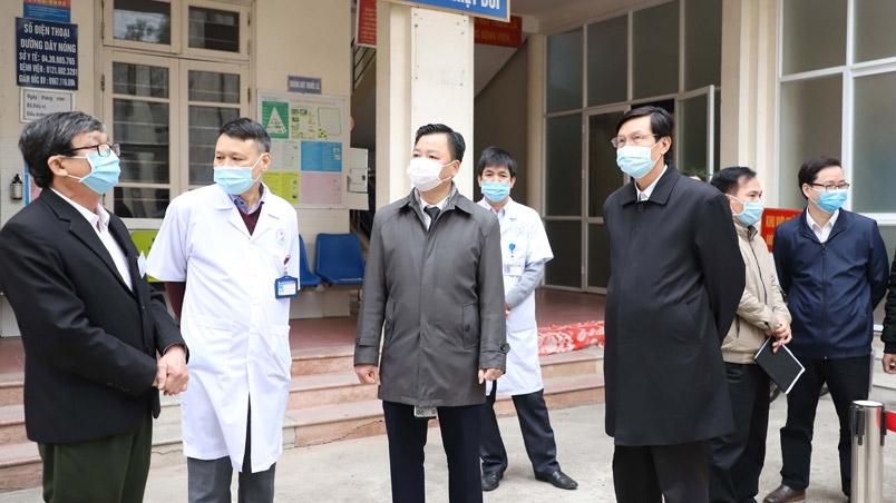 Hà Nội tăng cường kiểm tra phòng, chống dịch Covid-19 trong dịp Tết Nguyên đán