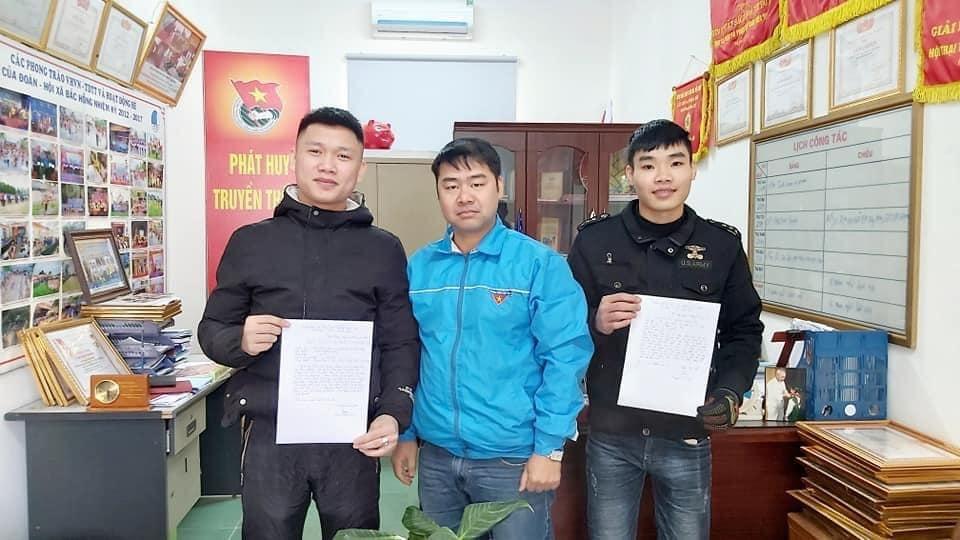 Đoàn viên, thanh niên Thủ đô gửi đơn tình nguyện nhập ngũ